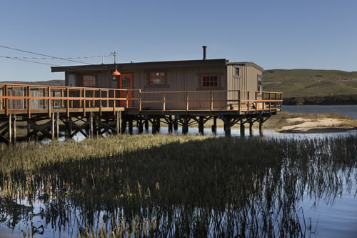 sea star cottage on tomales bay in inverness ca